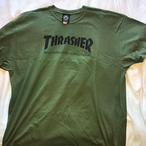 Thrasher Men s Tshirt Green XXL 4549560b92c0